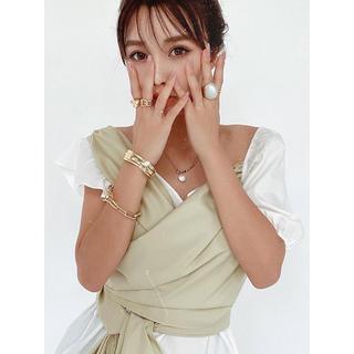 eimy istoire - eimyistoire♡バックリボンアシンメトリートップス♡mint激レア