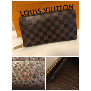 LOUIS VUITTON - 美品!正規品!ルイヴィトン ダミエ ジッピーオーガナイザー 交渉可!