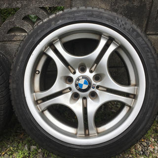 ビーエムダブリュー(BMW)のBMW  E46  Mテク 17インチホィール&タイヤ(タイヤ・ホイールセット)