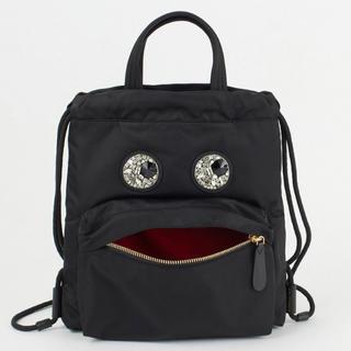 アニヤハインドマーチ(ANYA HINDMARCH)の新品 Mini Crystal Eyes Drawstring Backpack(リュック/バックパック)