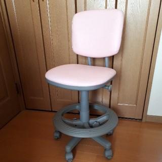 ニトリ(ニトリ)の学習椅子 デスクチェア ピンク(デスクチェア)