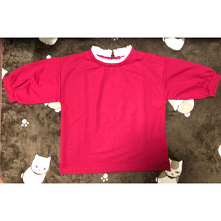 ハニーズ(HONEYS)のHoneys 赤カットソー(カットソー(半袖/袖なし))