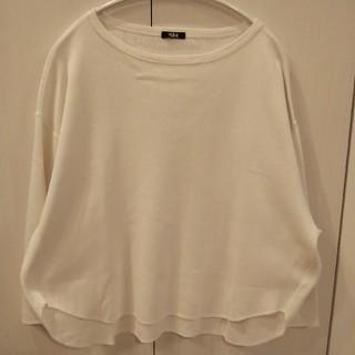アングローバルショップ(ANGLOBAL SHOP)のyleve カットソー 白 定番 イレーヴ(Tシャツ(長袖/七分))