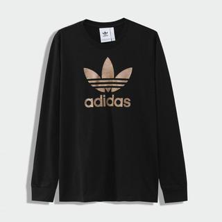 アディダス(adidas)の新品 アディダスオリジナルス トレフォイルロゴ 長袖Tシャツ Mサイズ(Tシャツ/カットソー(七分/長袖))