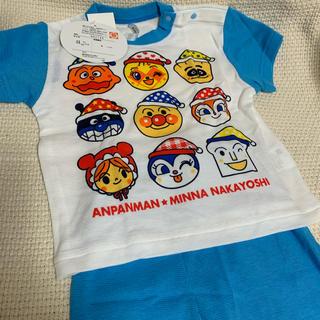 バンダイ(BANDAI)の新品 アンパンマン  パジャマ size80 (パジャマ)