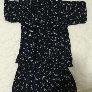 コムサイズム(COMME CA ISM)の美品 甚平 和柄 80(甚平/浴衣)