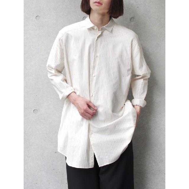 Dulcamara(ドゥルカマラ)のDulcamara 19ss ヨークスリーブシャツ メンズのトップス(シャツ)の商品写真