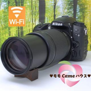 ニコン(Nikon)のニコン一眼レフ D7000☆300mm望遠レンズセット☆836(デジタル一眼)