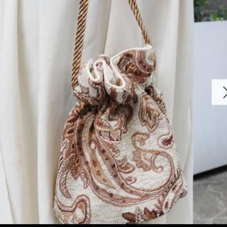 Ungrid - ungrid ジャガード巾着バック 人気商品