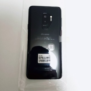 ギャラクシー(Galaxy)の【美品・SIMロック解除済】Galaxy S9+ (携帯電話本体)