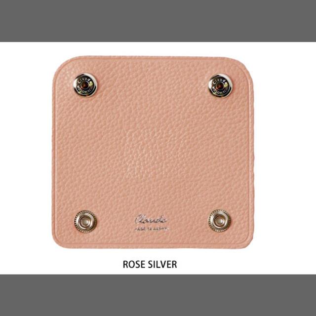 Herve Chapelier(エルベシャプリエ)の《未使用》クロード元町 ハンドルカバー ピンク 2つセット レディースのバッグ(ハンドバッグ)の商品写真