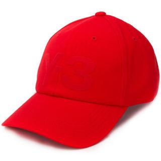 Y-3 - 新品 Y-3 Yohji Yamamoto ロゴ ベースボール キャップ 赤