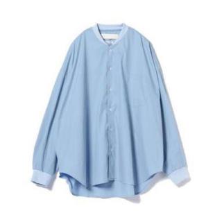 ビームス(BEAMS)のL'ATALIER ビッグシルエットリブカラーシャツ(シャツ)