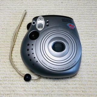 フジフイルム(富士フイルム)の富士フィルム チェキ instax mini 20  シルバー 本体のみ(フィルムカメラ)