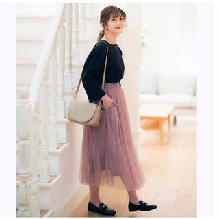 シマムラ(しまむら)の【新品未使用】プチプラのあや プリーツシフォンスカート(ロングスカート)