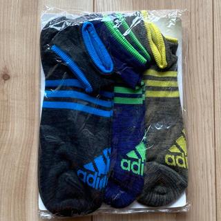アディダス(adidas)の*adidas アディダス* ソックス くるぶし靴下 3組セット(ソックス)