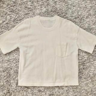 GU ジーユー Tシャツ 白Tシャツ