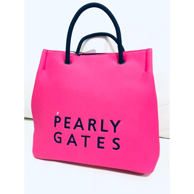 PEARLY GATES(パーリーゲイツ)のパーリーゲイツ PEARLY GATES ショッパー風バッグ(小) スポーツ/アウトドアのゴルフ(バッグ)の商品写真