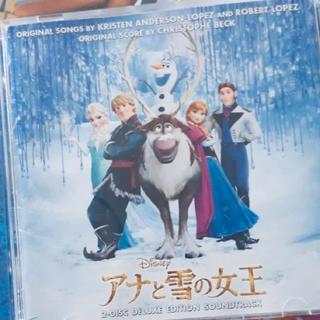 アナトユキノジョオウ(アナと雪の女王)のアナ雪サントラ2枚組(キッズ/ファミリー)