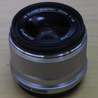 オリンパス(OLYMPUS)のオリンパス交換レンズM.ZUIKO DIGITAL 25mm F1.8(レンズ(単焦点))
