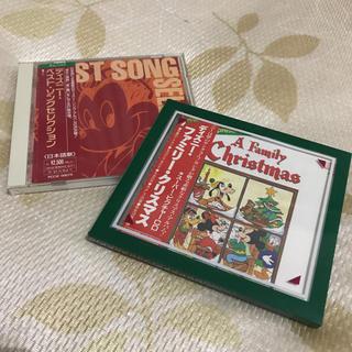 ディズニー(Disney)のディズニー関連 CD 2枚セット(キッズ/ファミリー)