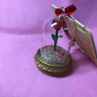 Disney - オーナメント 美女と野獣 魔法の薔薇 ランプ フィギュア
