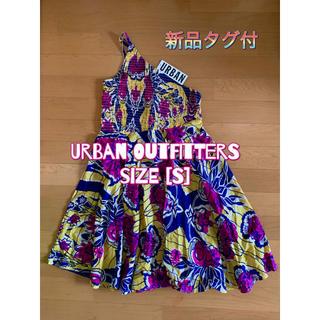 アーバンアウトフィッターズ(Urban Outfitters)の[新品] Urban outfitters ワンピース S タグ付 夏(ひざ丈ワンピース)