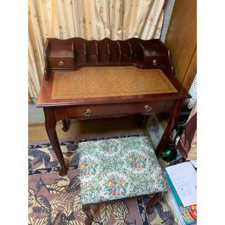 専用!アンティークデスク、椅子セット(学習机)
