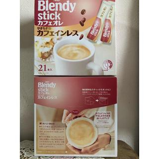 ブレンディ カフェインレス42本(コーヒー)