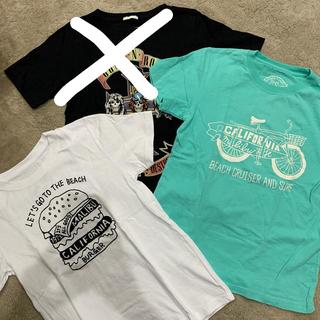 ジーユー(GU)のTシャツ3枚セット150美品✨(Tシャツ/カットソー)