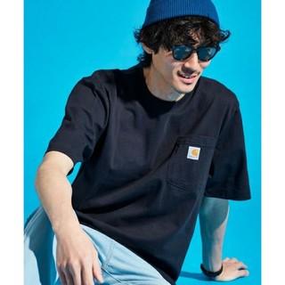 カーハート(carhartt)のcarhartt カーハート 半袖 ポケットTシャツ ブラック Mサイズ(Tシャツ/カットソー(半袖/袖なし))