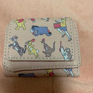 クマノプーサン(くまのプーさん)の三つ折り財布(財布)