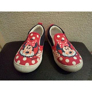 ディズニー(Disney)のミニー 靴(スリッポン)(スニーカー)