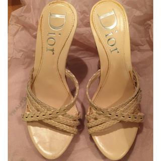 ディオール(Dior)のDior サンダル サイズ35(サンダル)