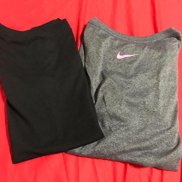 NIKE(ナイキ)のNIKE Tシャツ セット 2枚 レディースのトップス(Tシャツ(半袖/袖なし))の商品写真