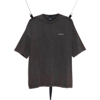 PEACEMINUSONE - PMO VINTAGE T-SHIRT #1 CHARCOAL GREY