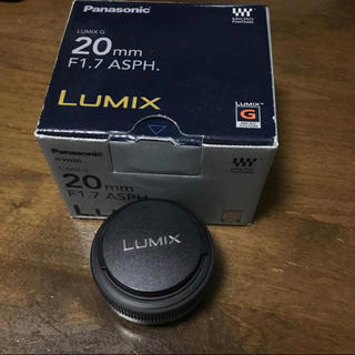 パナソニック(Panasonic)のPanasonic LUMIX 20mm F1.7 ASPH.(レンズ(単焦点))