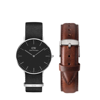 ダニエルウェリントン(Daniel Wellington)の【36㎜】ダニエル ウェリントン腕時計DW151+ベルトSET〈3年保証書付〉(腕時計)