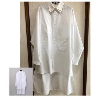 Yohji Yamamoto - Alexandros × Yohji Yamamoto 2枚袖ロングシャツ