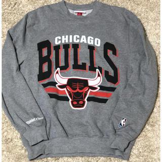 ミッチェルアンドネス(MITCHELL & NESS)のミッチェル&ネス Chicago Bullsトレーナー Sサイズ(スウェット)