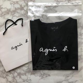 agnes b. - 【新品】agnes b アニエスベー Tシャツ ブラック