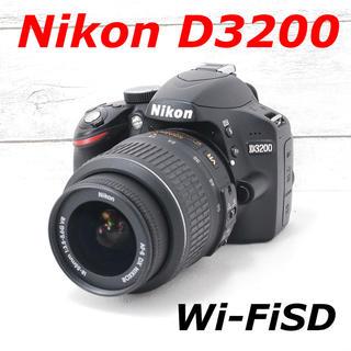 ニコン(Nikon)の❤️一眼デビューに❤️スマホ転送❤️Nikon D3200(デジタル一眼)