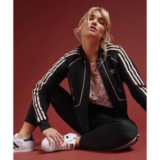 アディダス(adidas)の【adidas】刺繍 トラック ジャケット OTサイズ【アディダス】(ブルゾン)