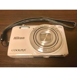 ニコン(Nikon)のNikon COOLPIX S6800 WHITE(コンパクトデジタルカメラ)