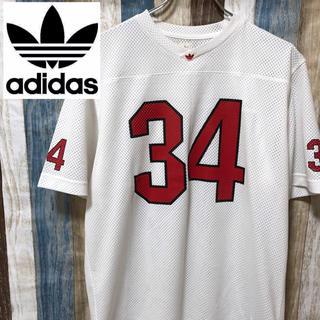 アディダス(adidas)の90's 【adidas】半袖 メッシュシャツ バスケ 万国旗タグ トレフォイル(シャツ)