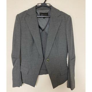 ビーシービージーマックスアズリア(BCBGMAXAZRIA)のbcbgmaxazria スーツ 上下セット セットアップ グレー(スーツ)