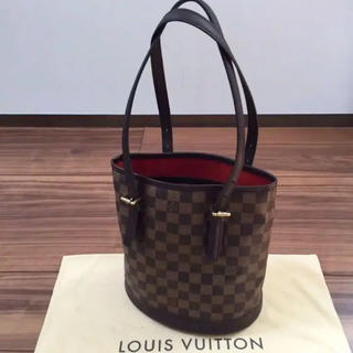 LOUIS VUITTON - 【美品】正規品 ルイヴィトン ダミエ マレ バケット ショルダーバッグ