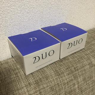 スリー(THREE)のDUO クレンジングバーム ホワイト 2個セット(クレンジング/メイク落とし)