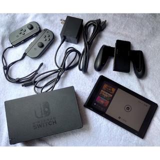 ニンテンドースイッチ(Nintendo Switch)の[送料込] Nintendo Switch 本体 グレー(家庭用ゲーム機本体)