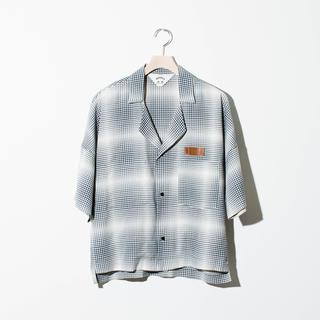 サンシー(SUNSEA)のSUNSEA GINGHAM SHADOW FRIED SHRIMP SHIRT(シャツ)
